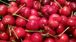 Fresh Red Cherries From Trader Joe's